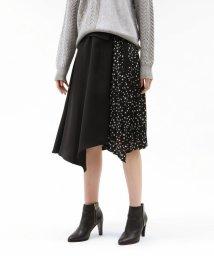 LOVELESS WOMEN/スタープリーツブロッキングスカート/502507174