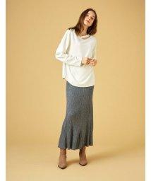 COEL/【セットアップ対応商品】ラメニットスカート/502516029