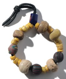 SHIPS MEN/【SHIPS】BS VTG:OLD AFRICAN BEADS BL     /502543393