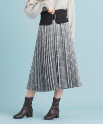 MAJESTIC LEGON/ベルトデザインプリーツスカート/502559071
