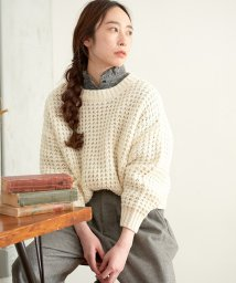 NICE CLAUP OUTLET/【pual ce cin】ワッフルプルオーバー/502668589