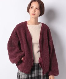 NICE CLAUP OUTLET/【every very nice claup】Newボアブルゾン/502673033