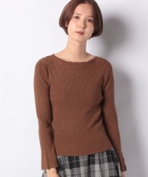 NICE CLAUP OUTLET/【every very nice claup】透かし+リブ長袖お上品ニット/502673037
