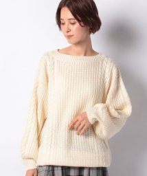 NICE CLAUP OUTLET/【every very nice claup】ケーブル畦チュニック/502673038