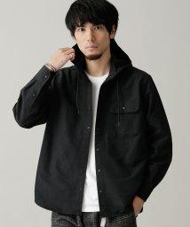 nano・universe/プランサーボタンフードシャツ/502677078