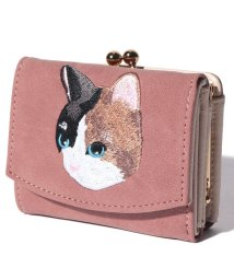 Laplace box/ネコ刺繍がま口ミニ財布/502679455