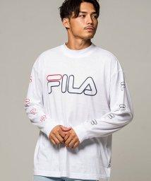 FILA/FILA【フィラ】袖プリントクルーネック長袖Tシャツ/502694916