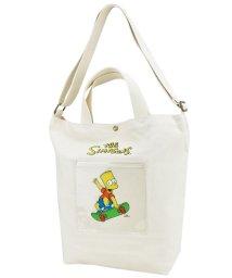 RUNNER/ザ シンプソンズ The Simpsons ショルダートート スケボー SMP 帆布 /502694933