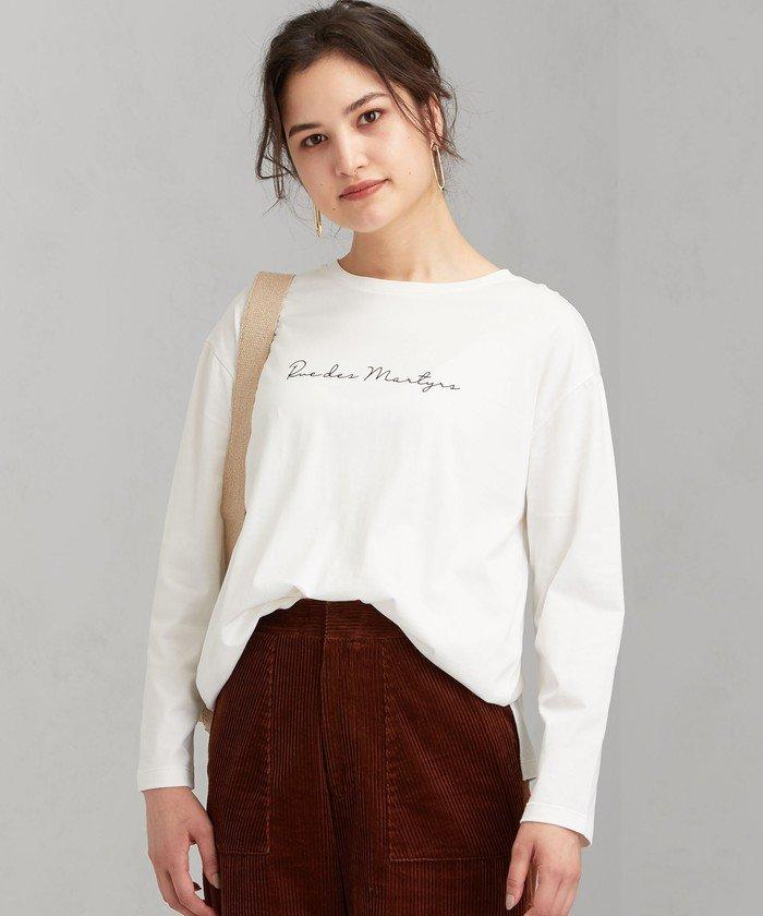 SC プリント ロングスリーブ Tシャツ ※