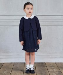 green label relaxing (Kids)/〔WEB限定〕ボレロ×フラワーワンピース セットアップ/502696978