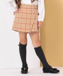KUMIKYOKU KIDS/【ひなちゃん着用/110-140cm】ウールチェックキュロット/502697731