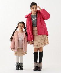 KUMIKYOKU KIDS/【ひなちゃん着用/110-140cm】ハートキルト裏毛 トレーナー/502697736