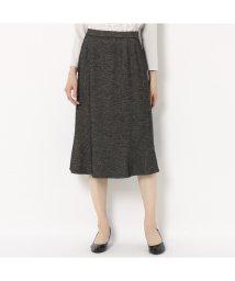 LOBJIE/[セットアップ対応] ウール混斜め切り替えスカート/502697846