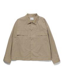 JUNRed/Wポケットシャツブルゾン/502492421