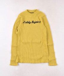 ZIDDY/【ニコプチ掲載】ショートネックカラーリブカットソーTシャツ/502552400
