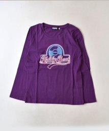 ZIDDY/【ニコプチ掲載】ロゴプリント天竺Tシャツ/502552401