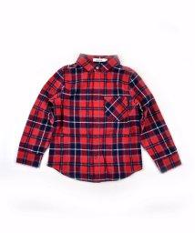 SLAP SLIP/綾ネル微起毛チェックシャツ/502584523
