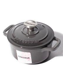 CHASSEEUR/【CHASSEUR】サブライム ラウンドキャセロール 10cm キャビア/502604501