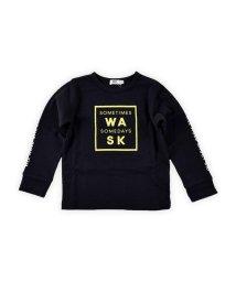 WASK/ロゴ星プリント接結Tシャツ(110cm~130cm)/502632948