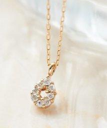 Phoebe/【K10】ドロップパヴェダイヤモンドネックレス/502647290