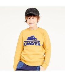 KRIFF MAYER(Kids)/裏起毛スウェット(ロゴ)(120~160cm)/502687435