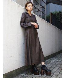 EMODA/マキシシャツドレス/502699233