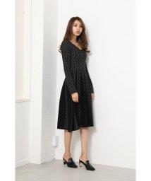 rienda/Chain Pattern Knit OP/502699263