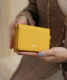 UNGRID bag/牛革三つ折りミニ財布/502699684