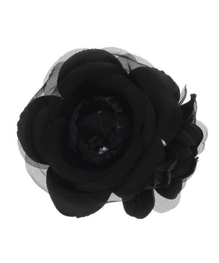 【50%OFF】 クードシャンス カメリアコサージュ レディース ブラック(019) 00(FREE) 【COUP DE CHANCE】 【セール開催中】