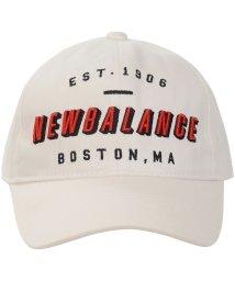 New Balance/ニューバランス/メンズ/U カレッジロゴ刺繍 ツイルキャップ MT/502700850