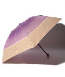 LANVIN Collection(umbrella)/LANVIN COLLECTION 婦人 ミニ傘 ツイル 先染/501236792