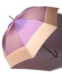 LANVIN Collection(umbrella)/LANVIN COLLECTION(ランバン コレクション)婦人長傘ポリエステルツイル先染ボーダー/501236793