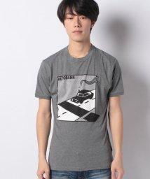 SISLEY/コットンジャージープリント半袖Tシャツ・カットソー/502675505
