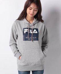 FILA/【FILA】フィラメントスウエット パーカー/502677460
