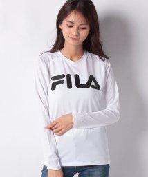 FILA/【FILA】ドットメッシュ ロングTシャツ/502677461