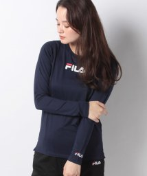 FILA/【FILA】ドットメッシュ ロングTシャツ/502677487