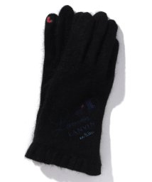 LANVIN en Bleu(GLOVE)/ラクーンヤーンLB縫手袋/502684665
