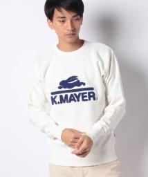 KRIFF MAYER/裏起毛スウェット(ロゴ)/502687457