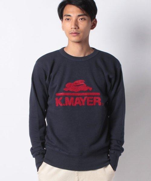 KRIFF MAYER(クリフ メイヤー)/裏起毛スウェット(ロゴ)/1933100