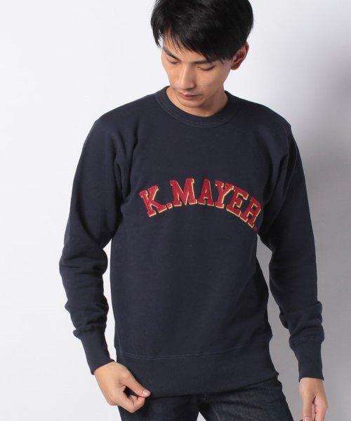 KRIFF MAYER(クリフ メイヤー)/裏起毛クルースウェット(アーチ)/1933103