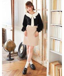 INGNI/フェイクウール台形スカート SET UP対応              /502692753