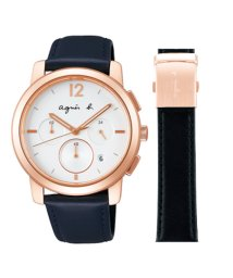 agnes b. HOMME/LM02 WATCH FCRT964 時計/502694937