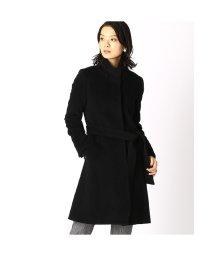COMME CA ISM/コムサイズム COMME CA ISM アンゴラ スタンドカラー ウールコート (ブラック)/502702435