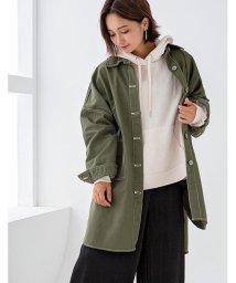 GROWINGRICH/[トップス]ツイルBIGシャツ[190655]オーバーサイズで着こなすカジュアル/502702523