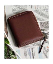 Add+/アッド Add+ 本革Lジップミニウォレット コンパクト財布 コインケース カードケース (ブラウン)/502702959