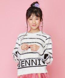 JENNI love/フェザーヤーンロゴニット/502704953