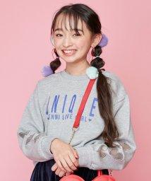 JENNI love/袖ハートメッシュトレーナー/502704957