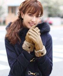 sankyoshokai/ムートンレザー手袋/502705328