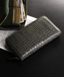 sankyoshokai/クロコダイルレザー長財布手帳型大きいサイズ/502705344