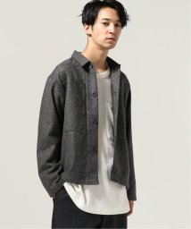 J.S Homestead/CASHMERE MIX DOBBY WORKER JACKET/502706355